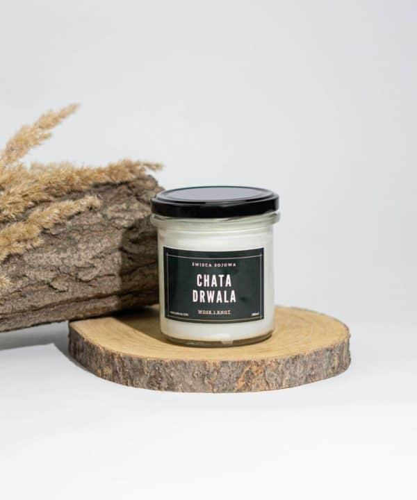 świeca zapach lasu