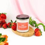 Świeca Zapachowa Tort Truskawkowy