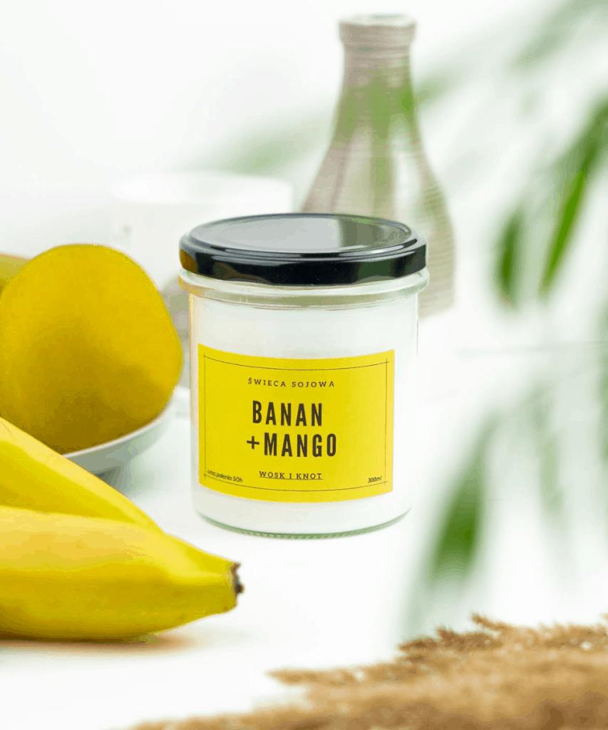Świeca Banan Mango