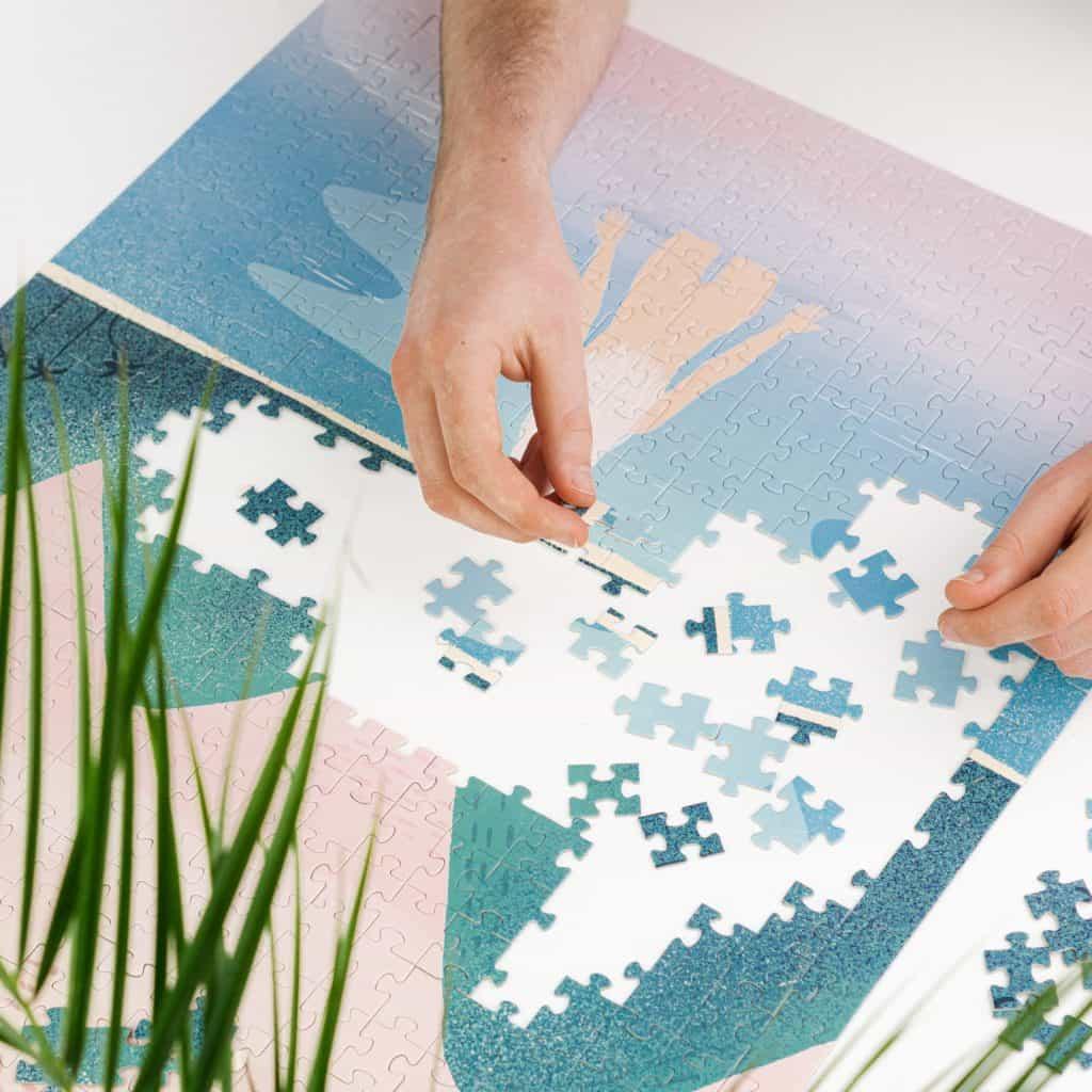 puzzle polskich artystów