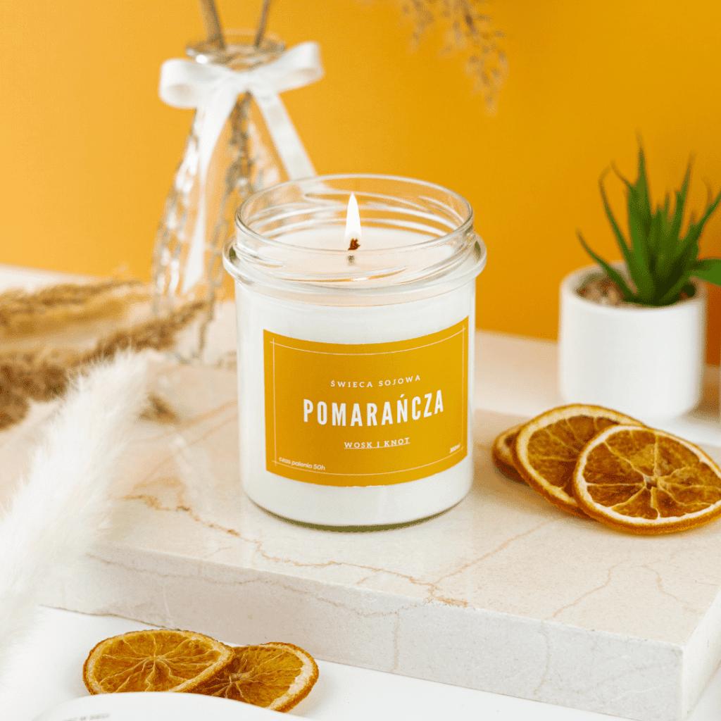 intensywność zapachu świec