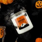 świeca babajaga halloween
